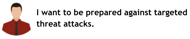 標的型攻撃対策を講じておきたい。